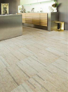 a finished residential amorim cork floor
